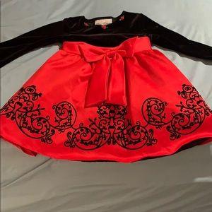 Girls Size 2T Formal Dress